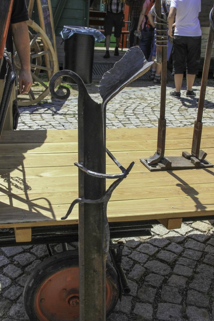 Kunstschmied Andreas Schwarz zeigt sein Können