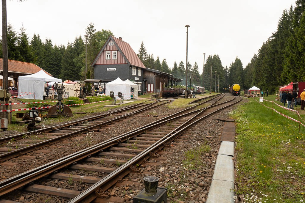 Schmiedefest am Rensteigbahnhof 2018