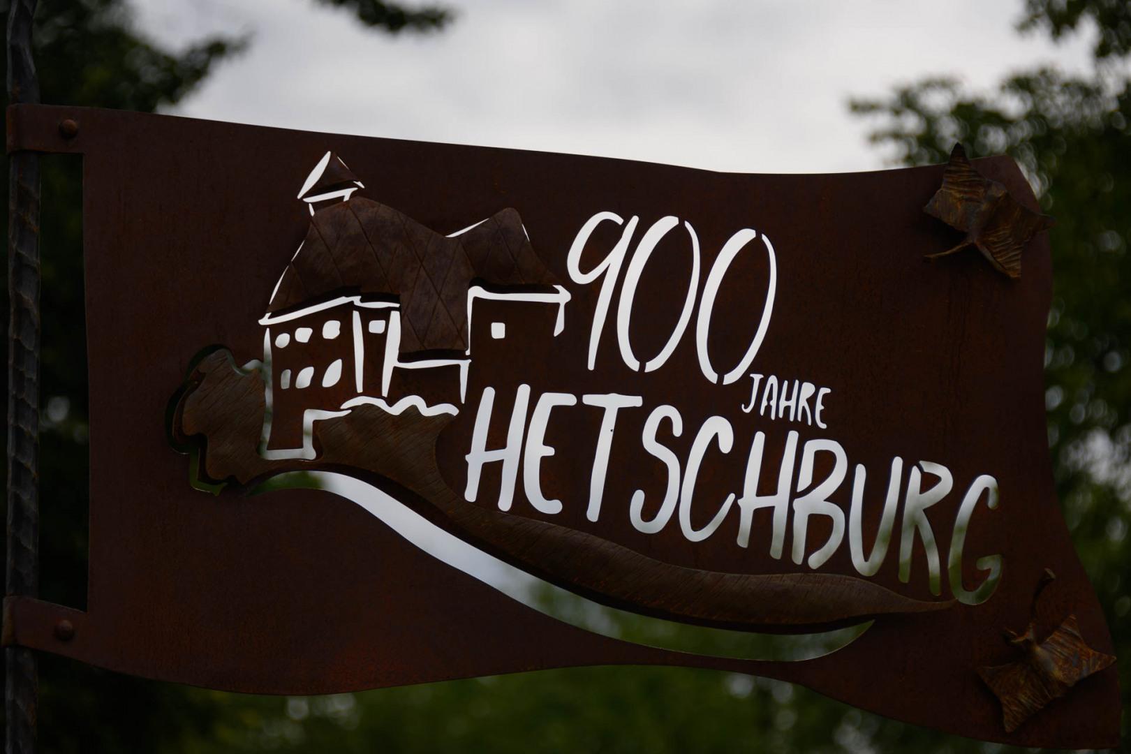 900 Jahre Hetschburg