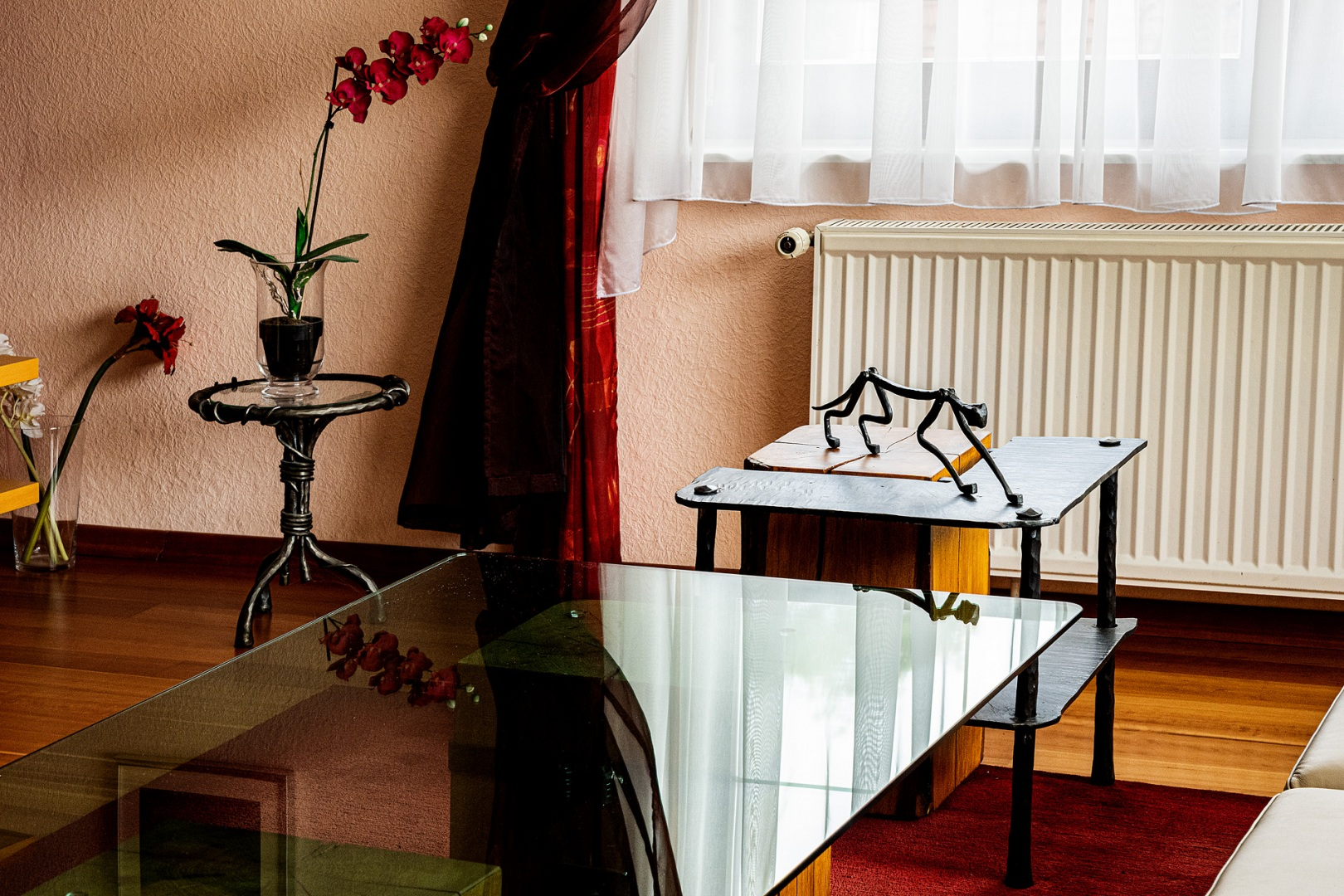 Schmiedekunst im Wohnzimmer